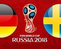 Dünya Kupası Almanya - İsveç maçı hangi kanalda, saat kaçta?