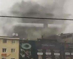 İstanbulda AVM yangını!