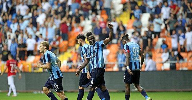Adana Demirspor 4 attı!