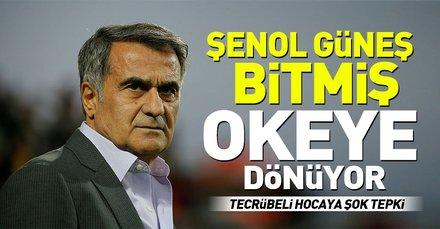 Beşiktaş taraftarından Şenol Güneşe sert tepki