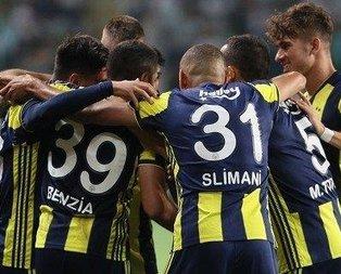 Fenerbahçenin ilk 11i belli oldu!