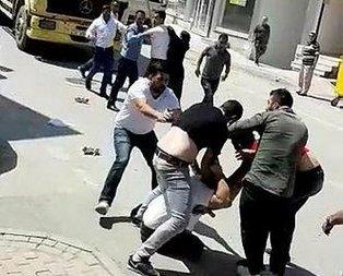 Bursa'da meydan kavgası... İki aile birbirine girdi