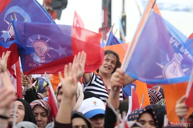 AK Partinin 'Büyük İstanbul Mitingi' için milyonlar Yenikapıya akın ediyor!