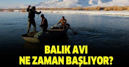Balık av sezonu ne zaman açılıyor? Av yasağı ne zaman, hangi tarihte kalkıyor?