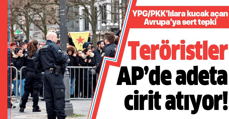 Bakan Çavuşoğlu'ndan Avrupa'ya terör tepkisi: Teröristler AP'de adeta cirit atıyorlar