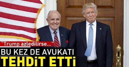 ABD'ye bir tehdit de Trump'ın avukatından: Ayaklanma çıkar