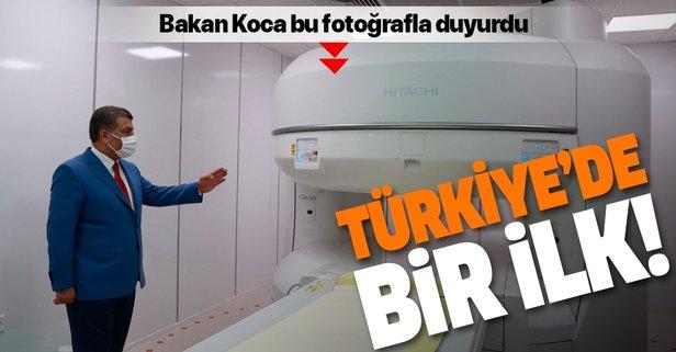 Bakan Koca duyurdu: Türkiye'de bir ilk!