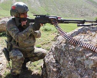 PKKya ağır darbe! İnlerinde vuruldular