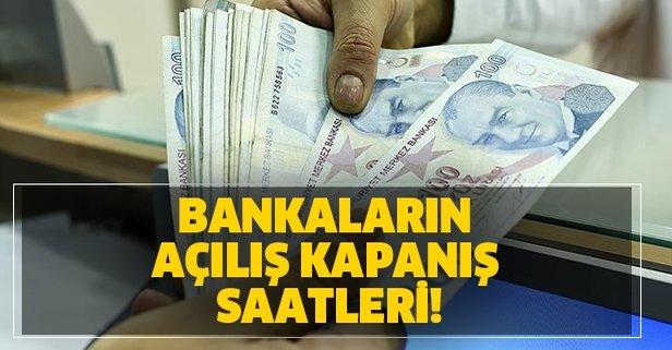 Banka Calisma Saatleri Garanti Is Bankasi Akbank Yapi Kredi