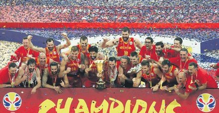 Basketbol Dünya Kupası'nda şampiyon İspanya