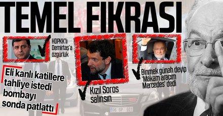 Temel Karamollaoğlu'ndan skandal Demirtaş ve Kavala açıklaması! Makam aracı cevabıyla alay konusu oldu
