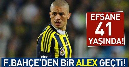 Fenerbahçe'den flaş Alex De Souza paylaşımı!
