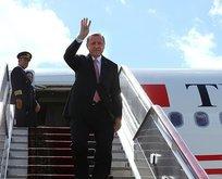 Cumhurbaşkanı Erdoğan Tunus'a gitti