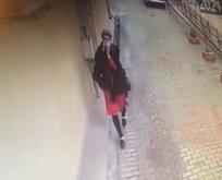 Menemenci hırsız kameraya yakalandı!