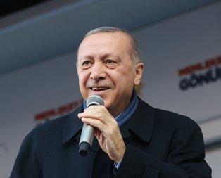 Başkan Erdoğan hem sohbet etti hem halı dokudu
