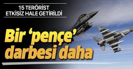 Son dakika haberi... Pençe-3 Harekatı'nda PKK'ya ağır darbe! 15 terörist öldürüldü