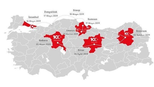 Turkiye Haritasi Boyamalik
