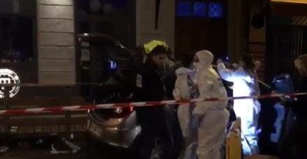 Fransa'da alarm: Araç kalabalığın arasına daldı