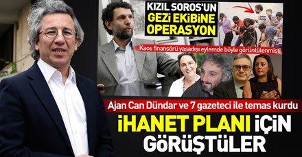 Gezi'nin medya ayağında Can Dündar ve 7 gazeteci vardı
