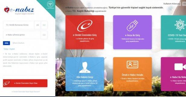 E-Nabız Giriş: E-Devlet ile E-Nabız sistemine nasıl giriş yapılır?