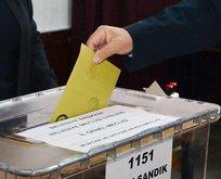 32 ilde oy verme işlemi sona erdi