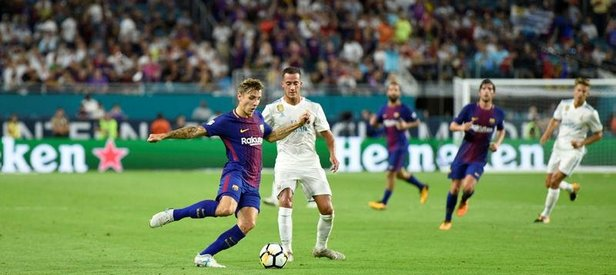 Arda 73'te oyuna girdi Barça, Real'i yıktı
