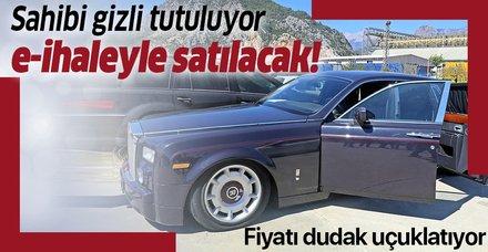 Gümrüğe takılan Rolls-Royce 3 milyon TL'den satılacak! Sahibi gizli tutuluyor