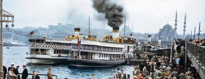 İstanbul'u daha önce hiç böyle görmediniz! İşte sizi çok şaşırtacak nostaljik İstanbul fotoğrafları