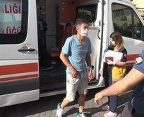 Şişli'de dehşet! Kadın ekipler tarafından kurtarıldı