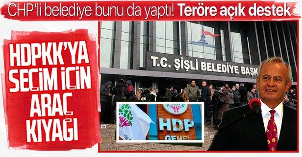 CHP'li belediyeden HDP'ye araç kıyağı
