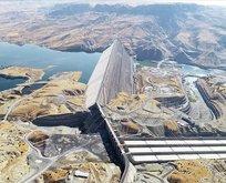 Türkiye'nin en büyük 4. barajı üretime başladı