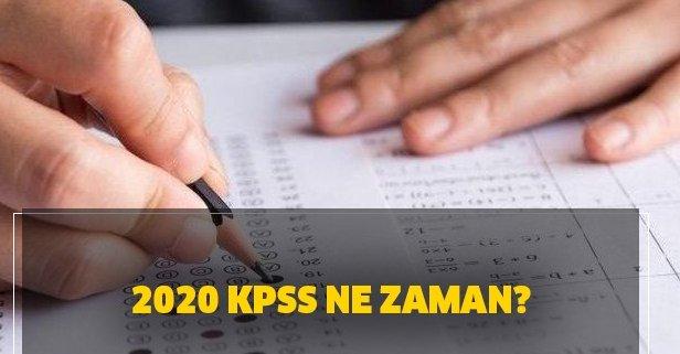 KPSS 2020 başvuru tarihi ne zaman? KPSS lisans, ön lisans ne zaman yapılacak?