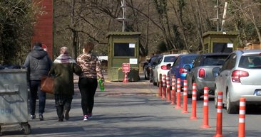 Koronavirüse karşı 'evde kal' uyarısını dinlemeyip Belgrad Ormanı'na akın ettiler