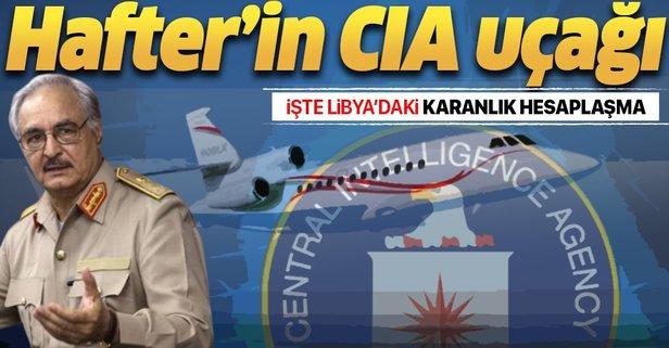 Hafter'in CIA uçağı