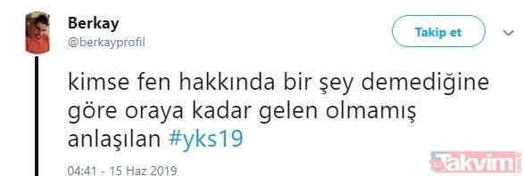 Twitter'da YKS çılgınlığı! TYT soruları öğrencileri isyan ettirdi, İşte birbirinden ilginç YKS paylaşımlar