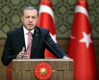 Cumhurbaşkanı Erdoğandan sürpriz kabul