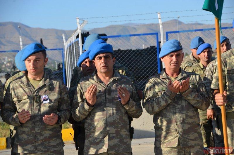 Pençe Harekatı'nda şehit olan piyade uzman onbaşı Mustafa Ünal için tören düzenlendi