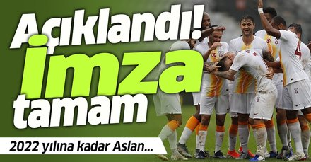 Son dakika: Galatasaray, Atalay Babacan'ın sözleşmesini uzattı!