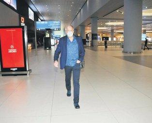Zeljko Obradovic İstanbul'da