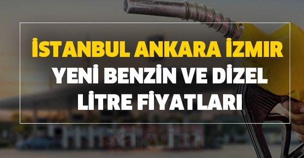 İstanbul, Ankara, İzmir yeni benzin dizel litre fiyatları