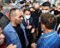 Ali Babacan'a Mersin'de şok: