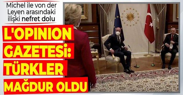 Fransız L'Opinion gazetesi: Türkler mağdur oldu