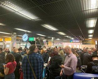 Hollanda'da uçak kaçırma girişimi!