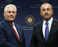 Bakan Çavuşoğlu Tillerson ile görüştü