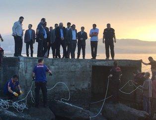 Trabzon'un Ortahisar kanalizasyona düşen işçi kayboldu! Kurtarmak için zamanla yarışıyorlar