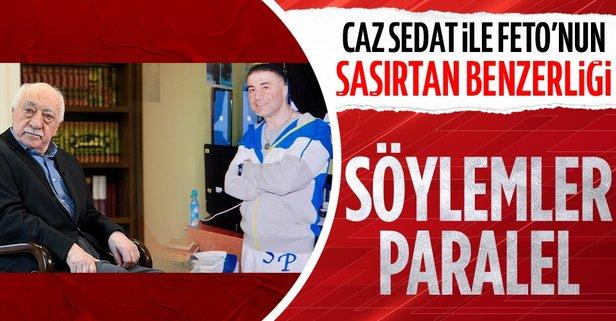 Caz Sedat ile teröristbaşı Gülen'in slogan benzerlikleri...