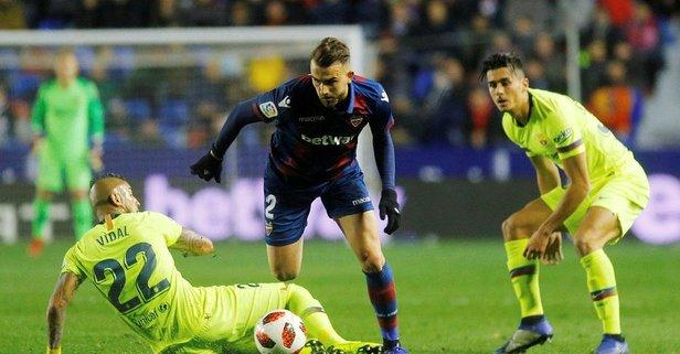 Messi'siz Barça'ya Kral Kupası'nda şok!