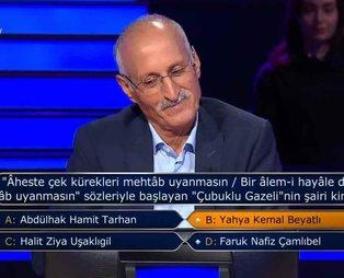 Kenan İmirzalıoğlu'nun sunduğu Kim Milyoner İster'e damga vuran amca: Soruyu bilmesine rağmen çekildi