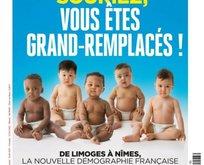 Fransız dergiden ırkçı kapak!