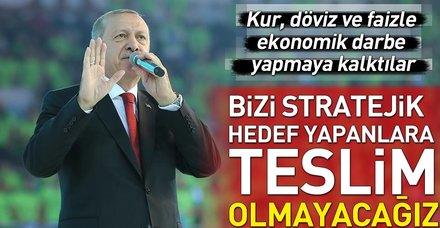 Başkan Erdoğan AK Parti 6. Olağan Kongresi'nde konuştu